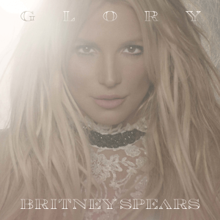 The album's cover features a close-up image of Spears with a bright light in the background. The album title is written on top of the image, while Britney Spears' name is written below her image.
