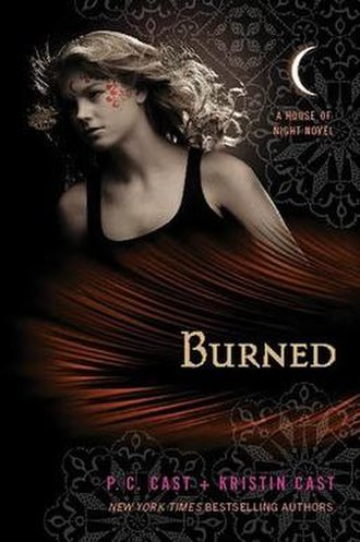 Burned (Cast novel) - The first edition cover of Burned