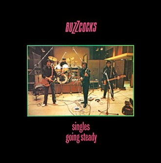 Singles Going Steady - Image: Buzzcocks Singles Going Steady LP album cover