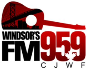 CJWF-FM - Logo used from 2009-2010