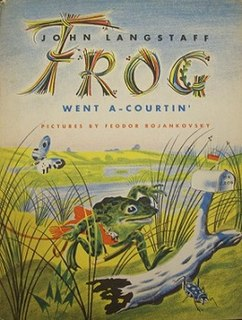 <i>Frog Went A-Courtin</i> (book) book by John Langstaff