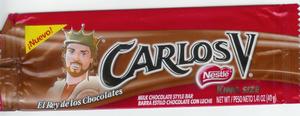 Carlos V (chocolate bar) - Carlos V (Candy Bar)