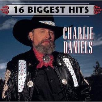 16 Biggest Hits (Charlie Daniels album) - Image: Charlie Daniels 16Biggest