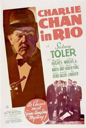 Charlie Chan in Rio - Theatrical release poster