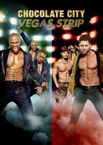 Chocolate City: Vegas Strip - Promotional poster