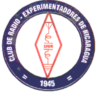 Club de Radioexperimentadores de Nicaragua - Image: Club de Radioexperimentadore s de Nicaragua (crest)