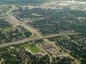 Conestoga Parkway - Interchange between Conestoga Parkway and Freeport Diversion