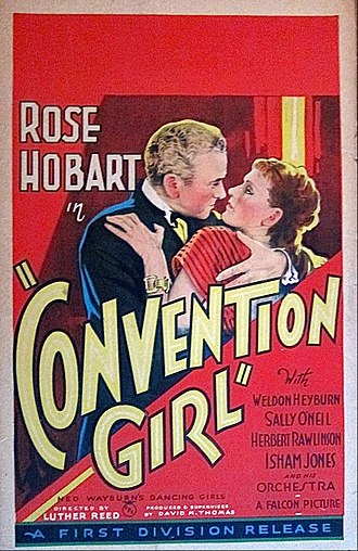 Convention Girl - Film poster