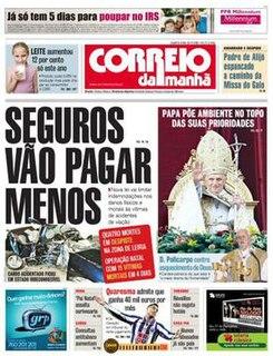 <i>Correio da Manhã</i> Portuguese newspaper