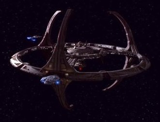 Deep Space Nine (fictional space station) - Image: DS9station
