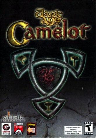 Dark Age of Camelot - Original cover art
