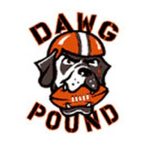 Dawg Pound - Original Dawg Pound logo from the team's return in 1999.