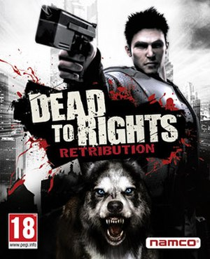 Dead to Rights: Retribution - Image: Dead to Rights Retribution