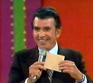 Dennis James - Dennis James on the syndicated version of The Price Is Right