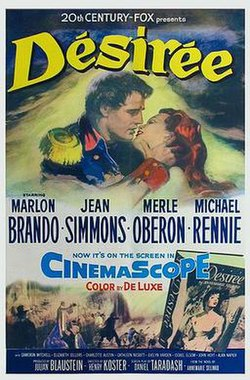 Desiree (1954 movie poster).jpg