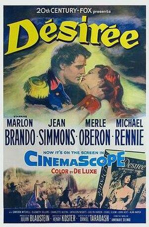 Désirée (film) - Theatrical release poster