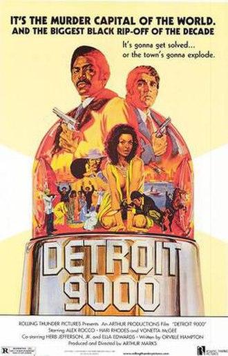 Detroit 9000 - Film poster