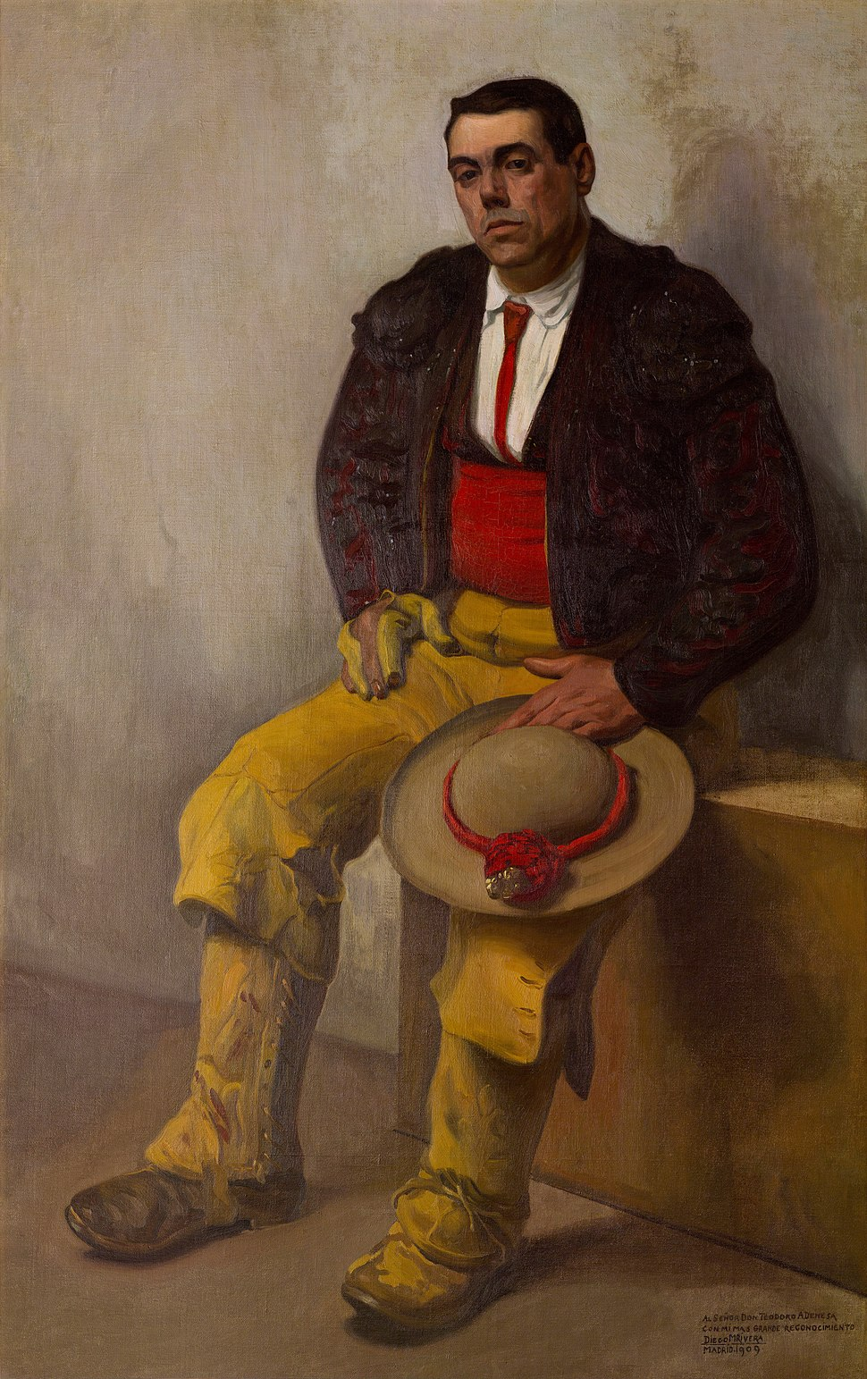 Diego Rivera - El Picador - Google Art Project