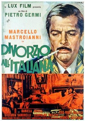 Divorce Italian Style - Image: Divorceitalian