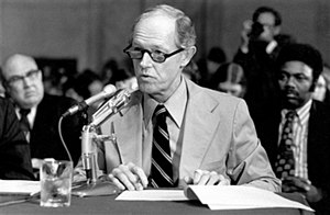 E. Howard Hunt - Hunt testifies before the Watergate Committee