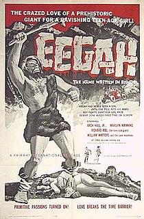 <i>Eegah</i> 1962 film by Arch Hall Sr. (as Nicholas Merriwether)