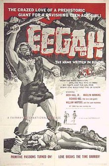Theatrical release poster for Eegah
