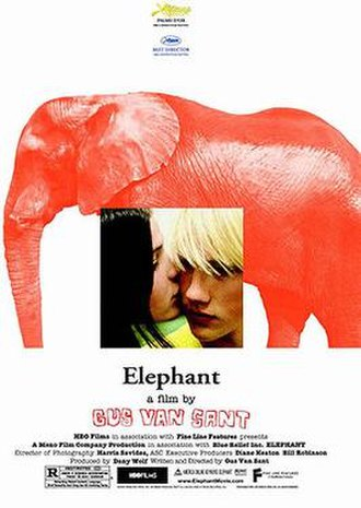 Elephant (2003 film) - Theatrical release poster