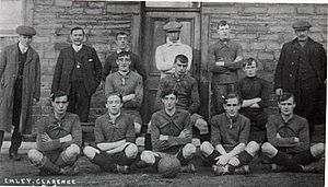 Wakefield F.C. - A pre-1913 Emley squad.