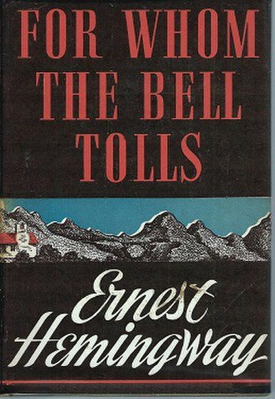 Picture of a book: For Whom The Bell Tolls