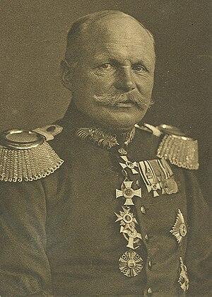 Ewald von Lochow - Ewald von Lochow during WWI