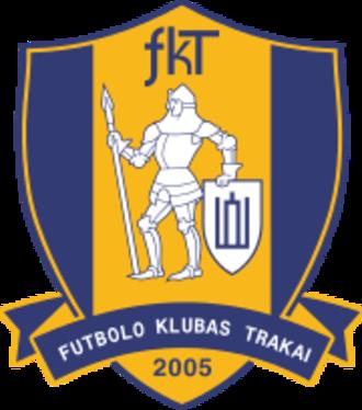 FK Trakai - Image: FK Trakai logo
