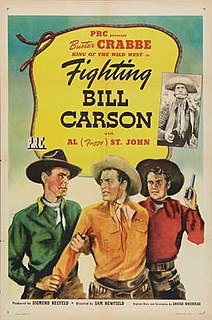 <i>Fighting Bill Carson</i> 1945 film directed by Sam Newfield