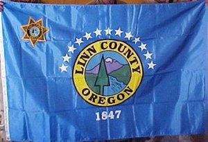 Linn County, Oregon - Image: Flag of Linn County, Oregon