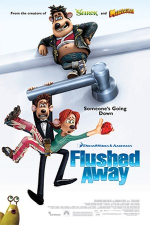 Flushed Away - Theatrical release poster