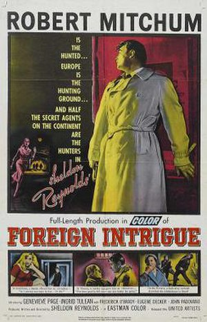 Foreign Intrigue (film) - Original film poster