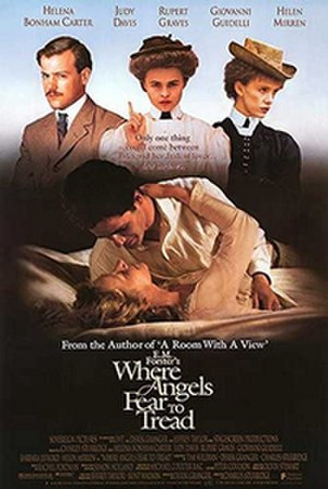 Where Angels Fear to Tread (film) - Original poster