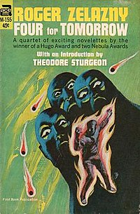 Four for Tomorrow (Roger Zelazny collection - cover art).jpg