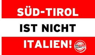 South Tyrolean Freedom - Banner used in protests helmed by South Tyrolean Freedom.