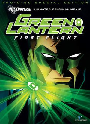 Green Lantern: First Flight - Two-Disc Special Edition DVD cover art
