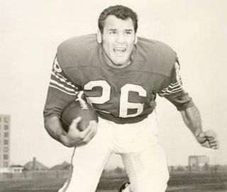 George Saimes American football defensive back and fullback