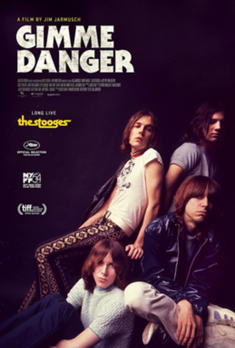 Gimme Danger - Theatrical release poster