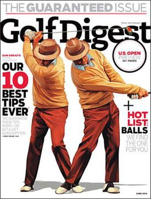 Golf Digest - Image: Golf Digest Cover