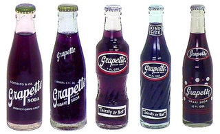 Grapette grape-flavored soft drink