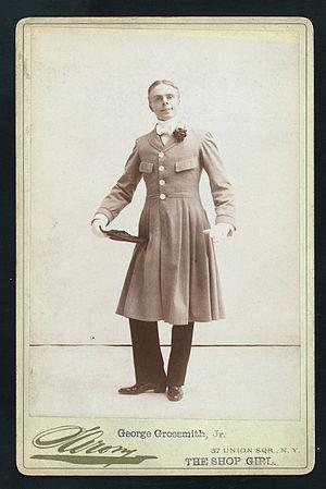 The Shop Girl - Grossmith as Bertie Boyd