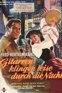 <i>Guitars Sound Softly Through the Night</i> 1960 film by Hans Deppe