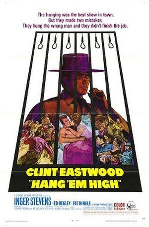 Hang 'Em High - Film poster by Sandy Kossin