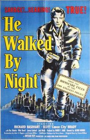 He Walked by Night - Theatrical release poster