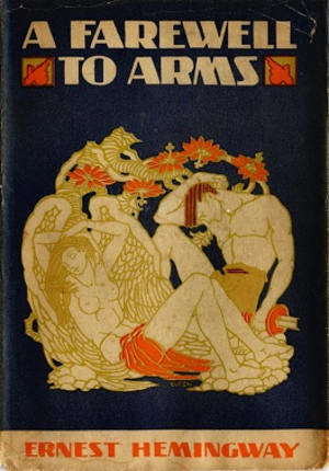 A Farewell to Arms - First edition cover
