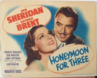 <i>Honeymoon for Three</i> (1941 film) 1941 film by Lloyd Bacon
