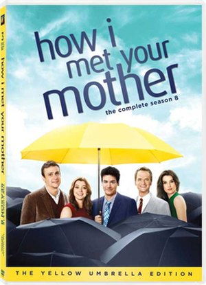 How I Met Your Mother (season 8) - Image: How I Met Your Mother Season 8 DVD Cover